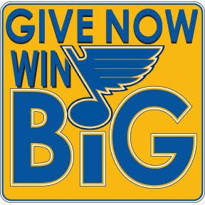 Saint Louis Blues - Give Now, Win Big!